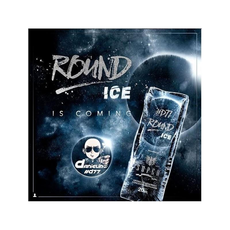 Aroma Concentrato Round Ice D77 Superflavor Doppia Concentrazione 20ml