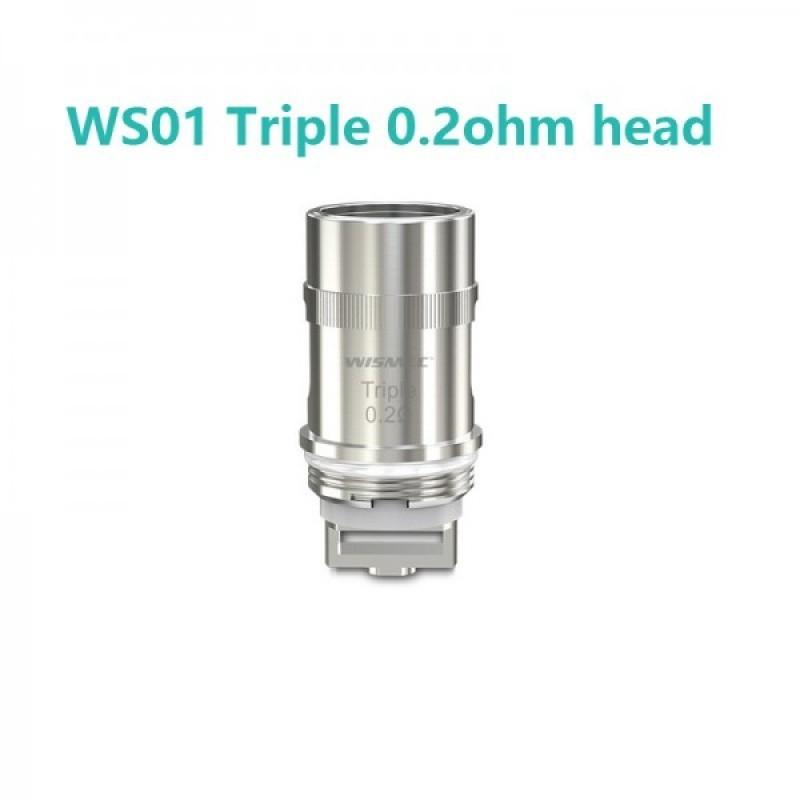 Resistenze Di Ricambio Triple Ws01-0.2ohm Wismec
