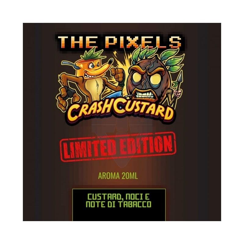 Aroma Concentrato Crash Custard Limited Edition 20ml Pixels Flavour