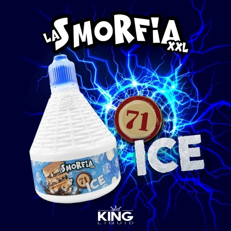 Aroma La Smorfia 71 Ice - 30ml Grande Formato - King Liquid