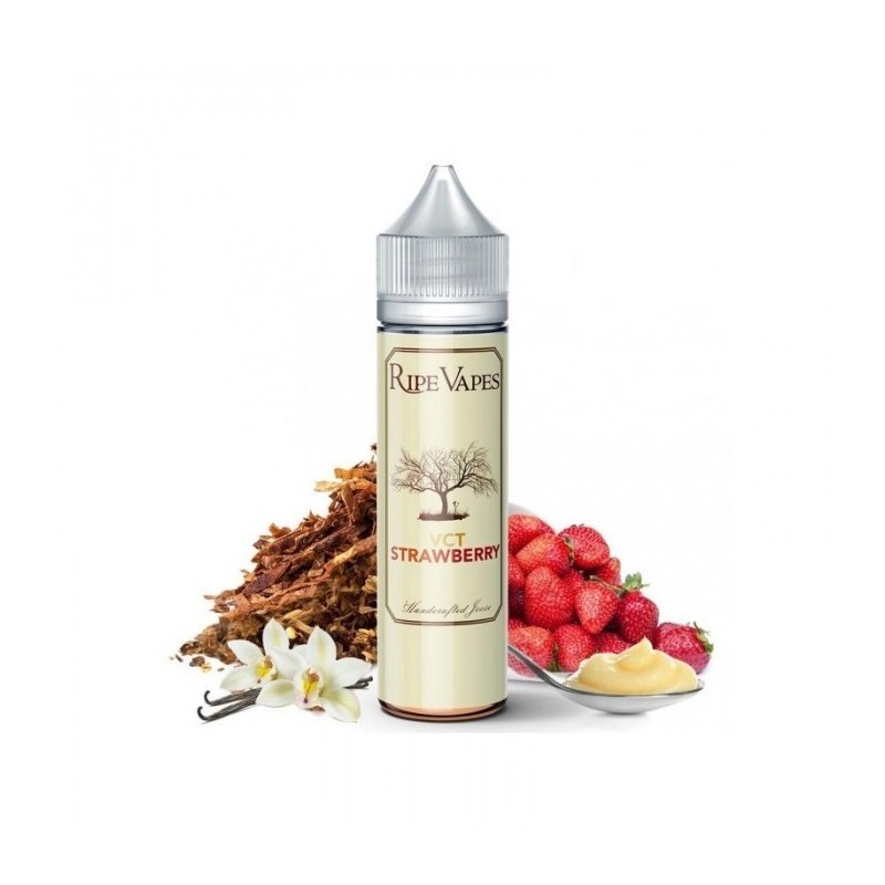 VCT Strawberry Aroma 20 ml Ripe Vapes