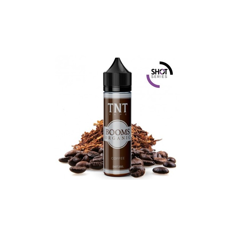 Aroma Booms Organic Coffee 20ml Tnt Vape