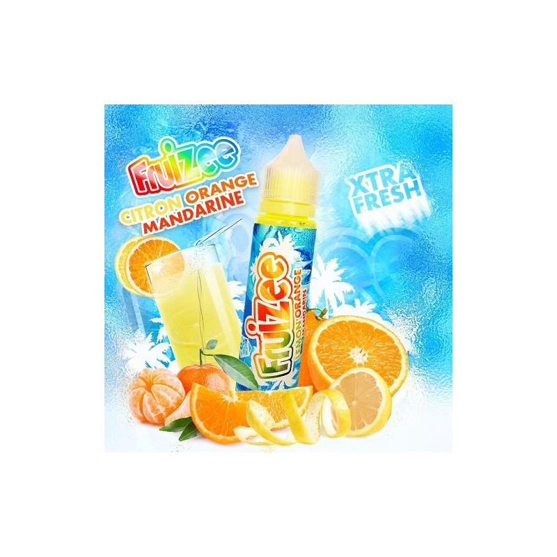 Aroma concentrato Fruizee Citr. Orange Mand. 20ml grande formato + Glicerina 30ml Eliquid France