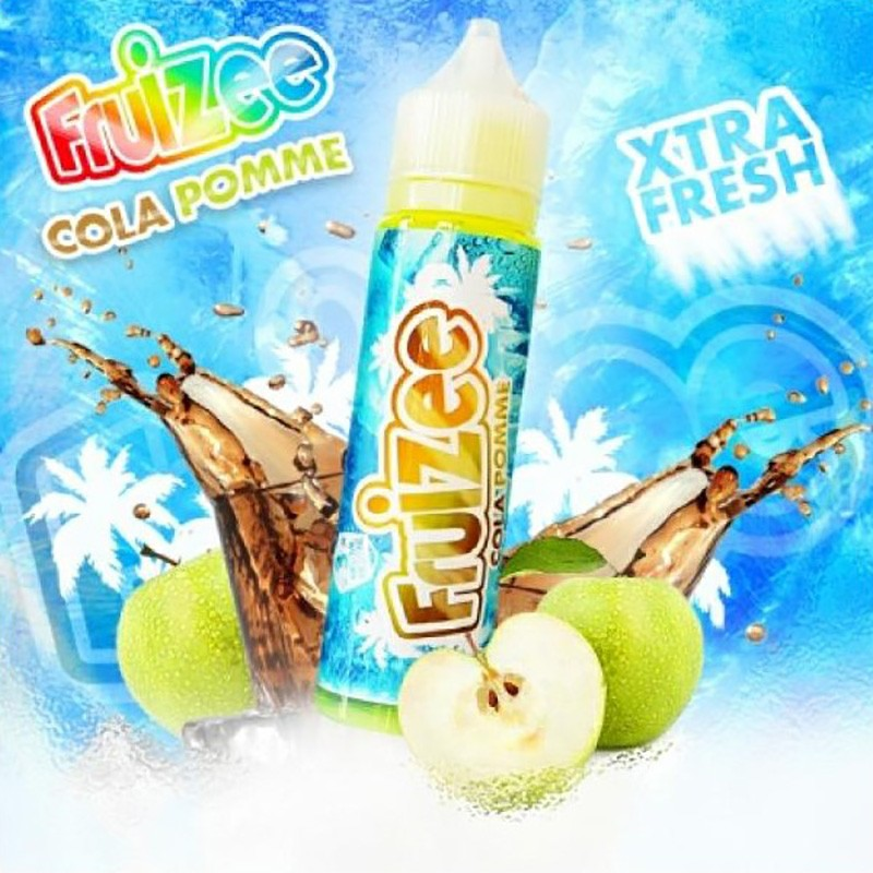 Fruizee Cola Apple aroma 20ml grande formato + Glicerina 30ml