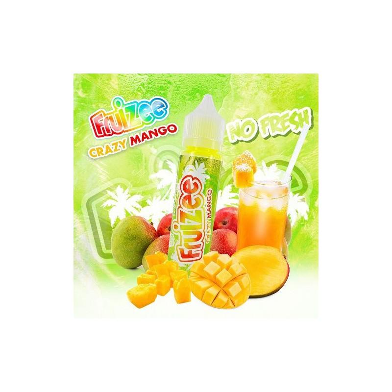 Fruizee Crazy Mango No Fresh aroma 20ml grande formato + Glicerina 30ml