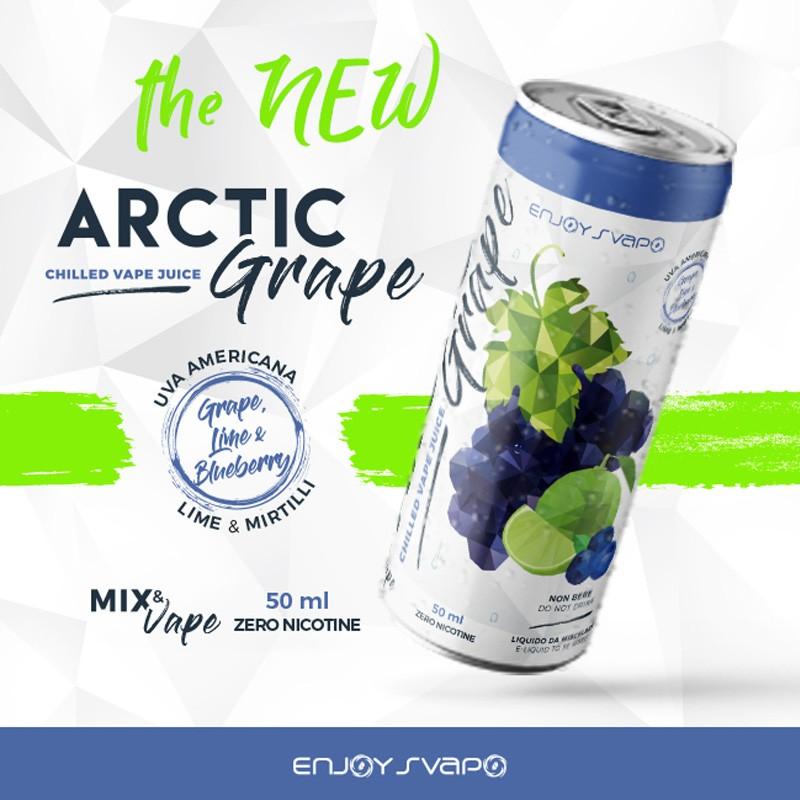 Enjoysvapo Arctic Grape 50 ml Mix