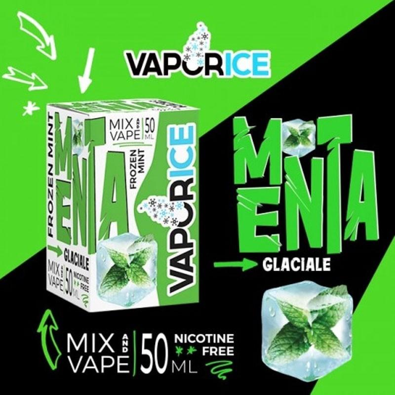 Vaporart Vaporice Menta Glaciale 50 ml Mix