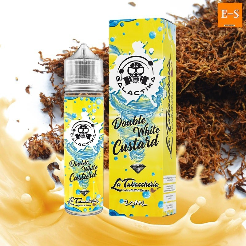 Galactika Double White Custard aroma 20ml+ Glicerina 30ml