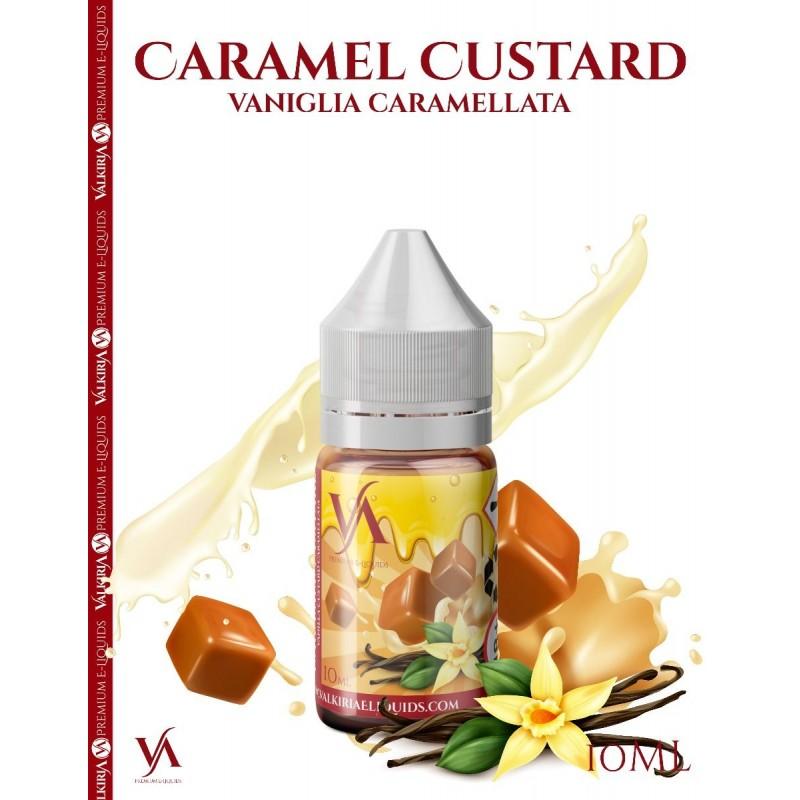 Aroma concentrato Valkiria Caramel Custard 10ml