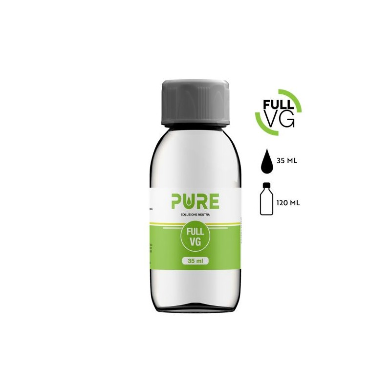 FULL VG PURE 35 ML IN BOTTIGLIA 120 ML
