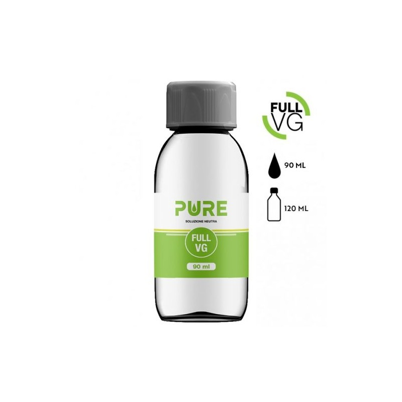 FULL VG PURE 90 ML IN BOTTIGLIA 120 ML