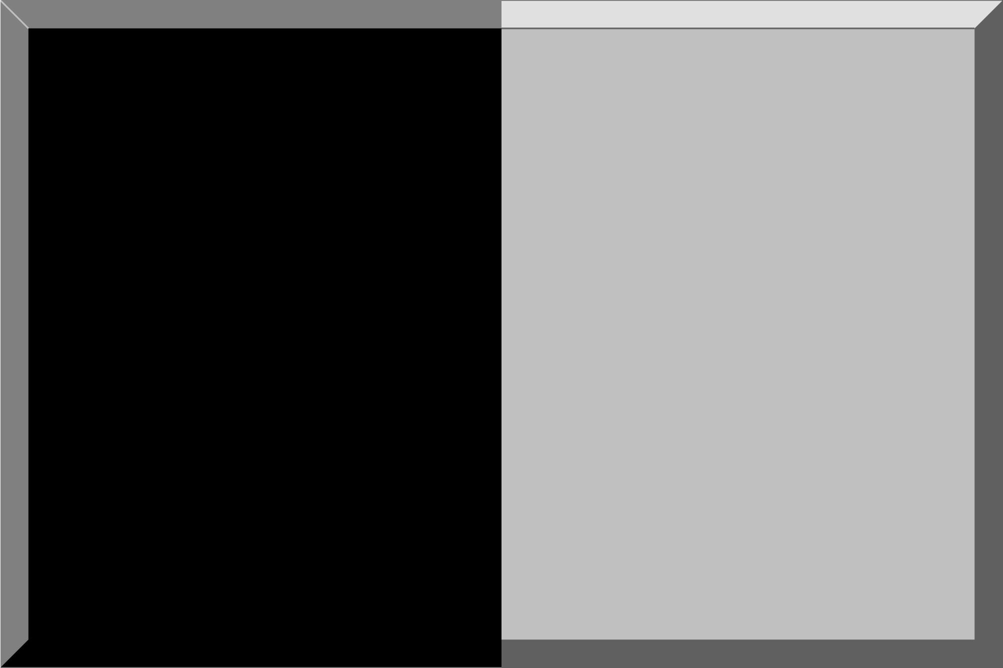 Black-Silver